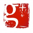 Old Google+ Icon - Stock Vector