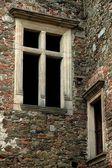 Oude venster — Stockfoto