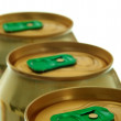 Royalty-Free Stock Photo: Cap cans