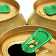Stock Photo: Cap cans