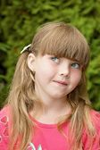 Portrait of young girl — Stock Photo