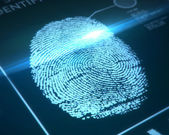Security identification — Stock Photo