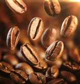 Upadek kawę — Zdjęcie stockowe