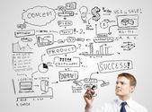 Strategy success — Stock Photo