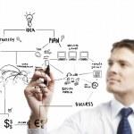 planejamento estratégico — Foto Stock