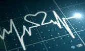 Heartbeat Monitor — Stock Photo