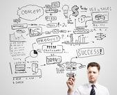 Erfolg strategie — Stockfoto