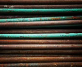 Rusty pipe texture — Stock Photo