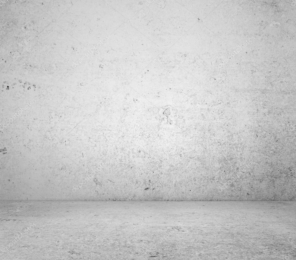 White concrete wall and floor — Stock Photo #11411965