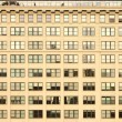 Windows of building - Stock Photo