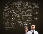 Успех стратегии — Стоковое фото
