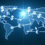 World money traffic — Stock Photo