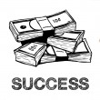 Success concept — Foto de Stock
