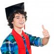 Royalty-Free Stock Photo: Young happy student