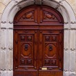 Old Italian door. — Stock Photo