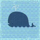 The Whale — Stock Vector