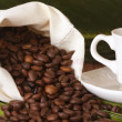Naturally roasted coffee beans, details — Stock Photo #10812021