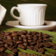Naturally roasted coffee beans, details — Stock Photo #10812070