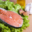 Stock Photo: Fish, salmon