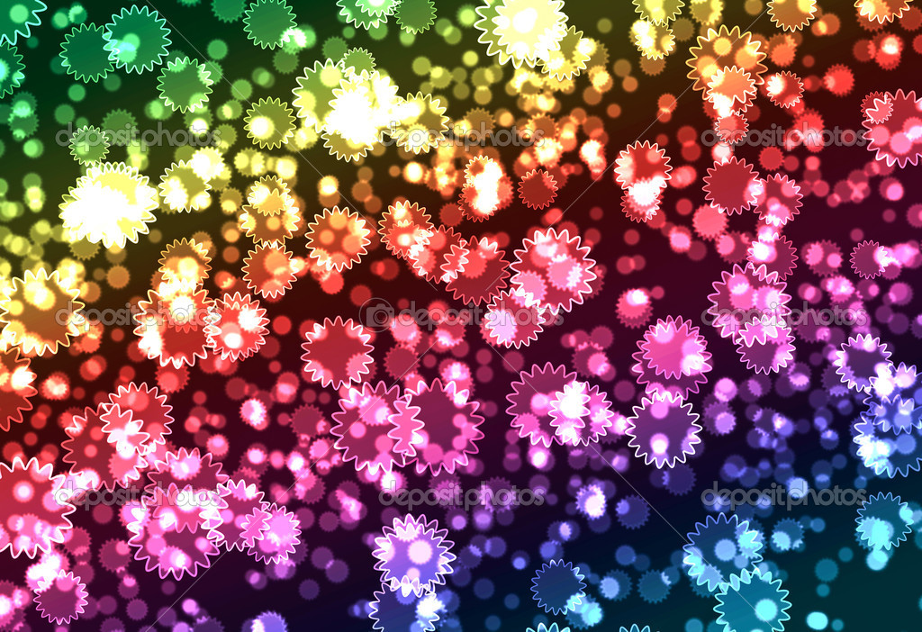 Abstract Bokeh background — 图库照片 #10812376