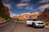 Zion Canyon National Park — Stock Photo
