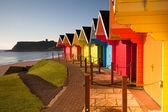 Cabañas de playa — Foto de Stock