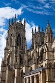 Йоркский собор церкви — Стоковое фото