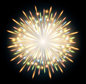 Fireworks colors — Stock Vector