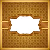 老式木制框架 — 图库矢量图片