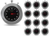 Saat ayarlama — Stok Vektör