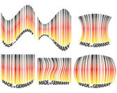 Barcode germany — Stock Vector
