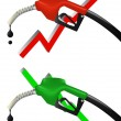 Royalty-Free Stock Vector Image: Economic petrol pump