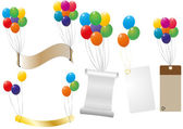 Label balloon — Stock Vector