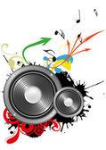 Loudspeaker — Vector de stock