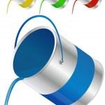 Paint bucket — Stock Vector #12125100