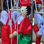Постер, плакат: Pinocchio wooden italian marionette