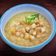 Chickpea soup — Stock Photo