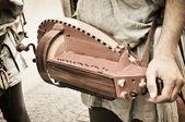 Hurdy-gurdy — Stock Photo