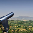 Royalty-Free Stock Photo: Coin operated telescope