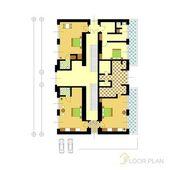 Architectural floor plan — Stock Vector