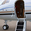 Ladder in private jet — Stock Photo #11784734