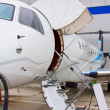 Ladder in private jet — Stock Photo #11785691