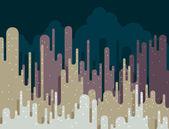 Cityscape abstrata — Vetor de Stock