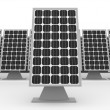Stockfoto: Solar panels background