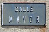 Calle mayor — Stok fotoğraf