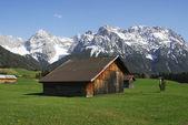 Karwendel'de dağları — Stok fotoğraf