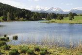 Lake In The Alps — Stock Photo