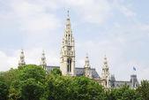 Wien city house — Stockfoto