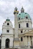 Karlskirche In Vienna — Stock Photo