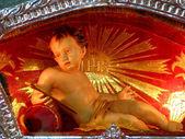 Niño a jesús contemplando — Foto de Stock